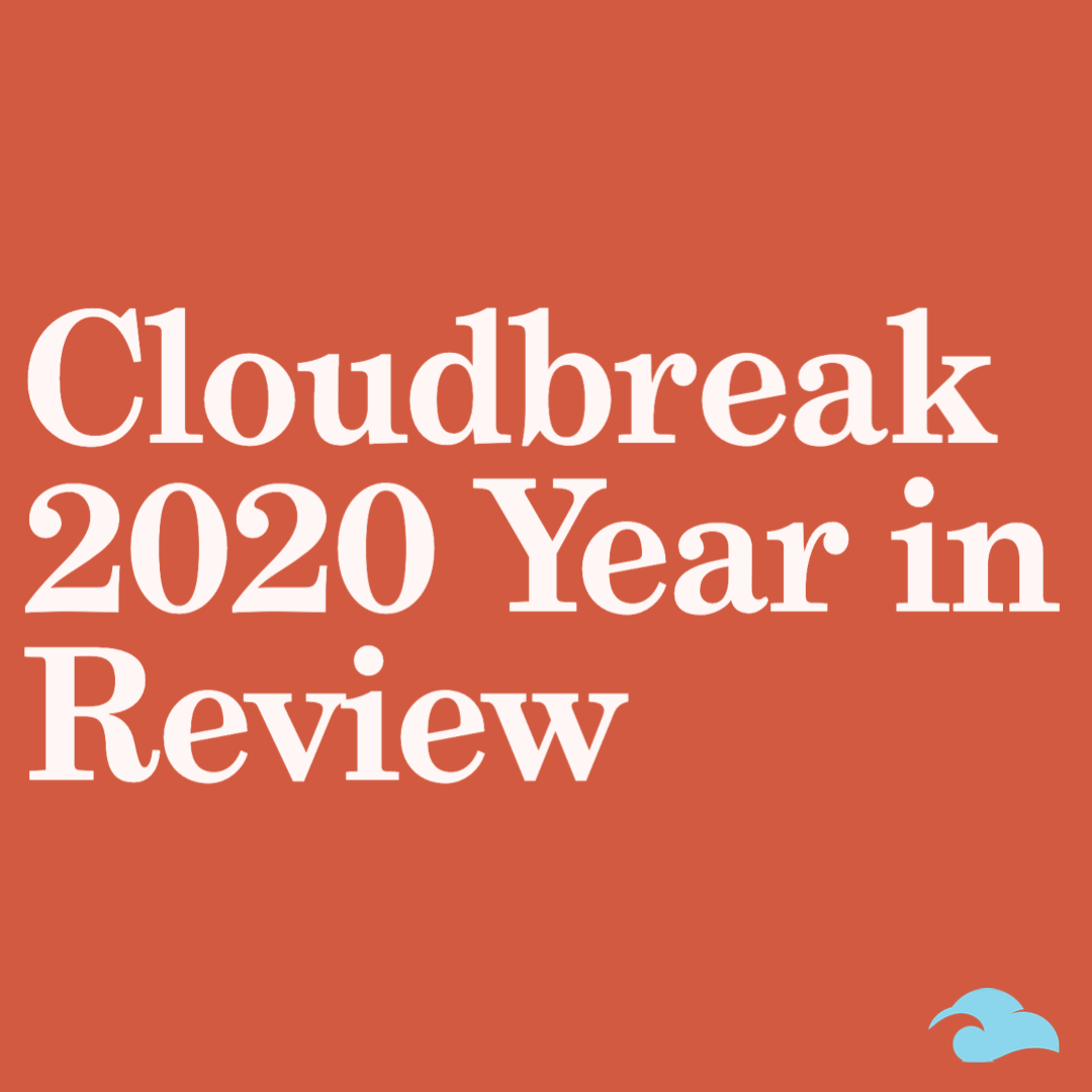 Cloudbreak 2020 year in review cover image